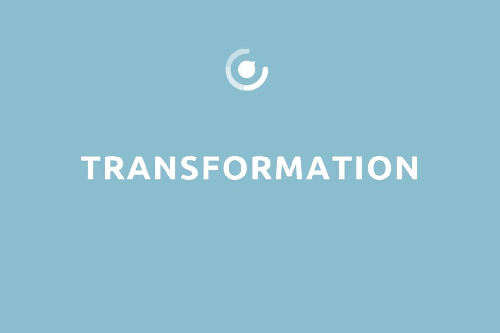 """Modulbeschreibung """"Transformation"""" mit Logo"""