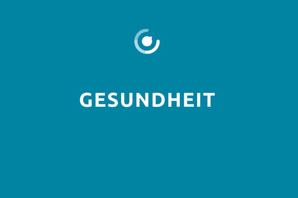 """Modulbeschreibung """"Gesundheit"""" mit Logo"""